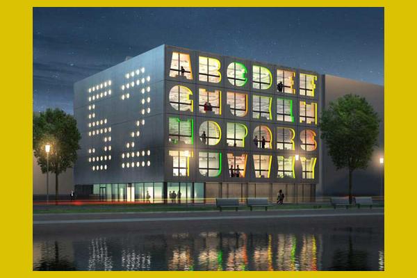 A betűs ház (designboom.com)