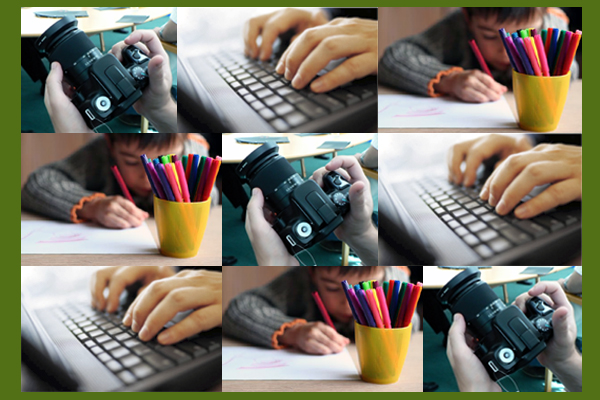 Írjatok, rajzoljatok, fotózzatok! (gé)