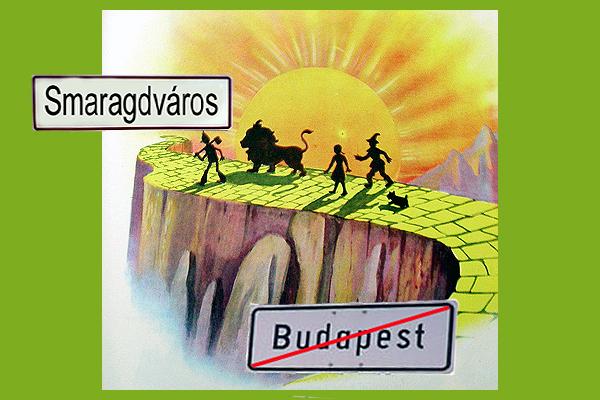 a sárga téglás út Budapesten át