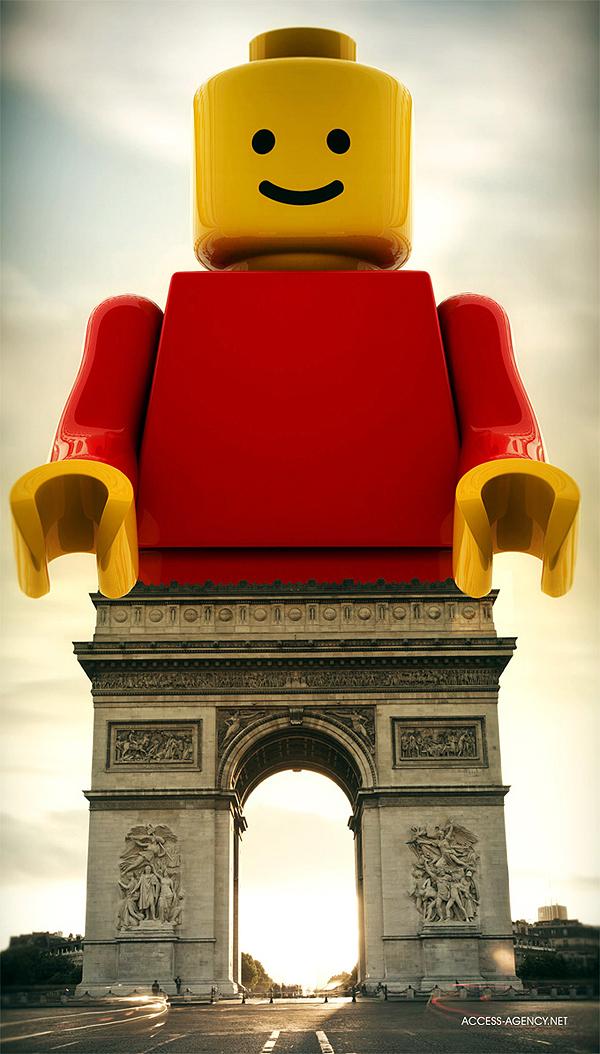 párizsi legó (thecoolhunter.net)