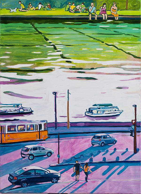 Rakpart városi tó (osgyanyi.blogspot.com)