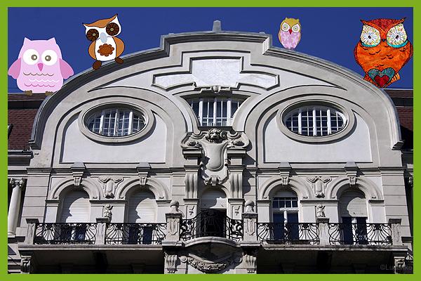 baglyok, Budapest, V., József Attila utca (gé)