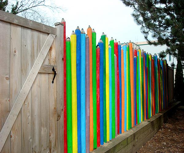 ceruzakerítés (flickr.com - Topiarius)
