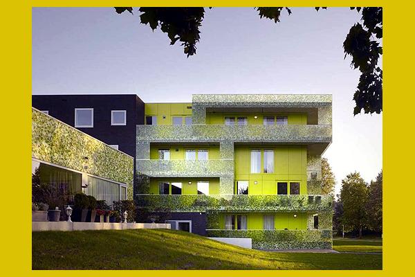 a kaméleon házak, Hollandia (archdaily.com)