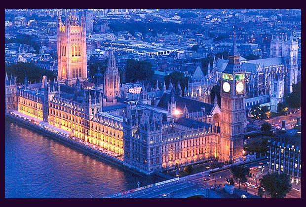az angol parlament épülete, Westminster-palota, Big Ben, London (keywordpicture.com)
