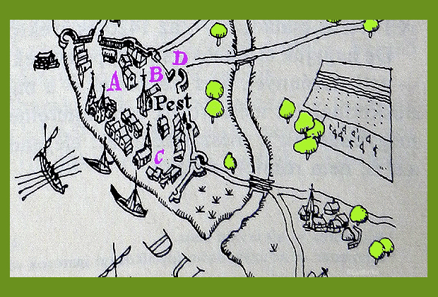 Pest városa