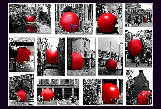 labda a világ körül