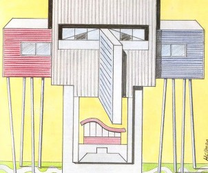 Építészarcok épületekből - Játék