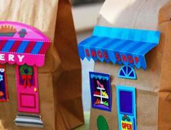 Papírtasakházak nem csak Halloweenre
