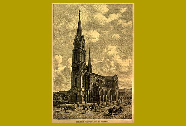 a ferencvárosi új templom