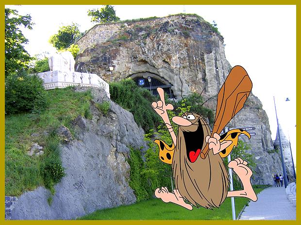 barlanglakások a Gellért-hegyen