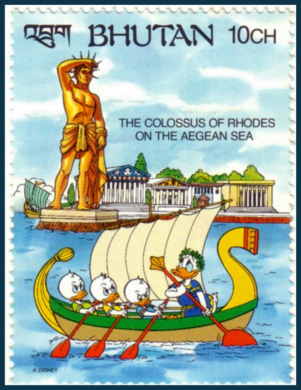 A rodoszi kolosszus - Donald kacsa és az ókori világ 7 csodája
