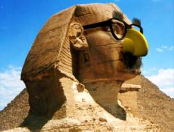 Színesen, viccesen és havasan - A nagy szfinx