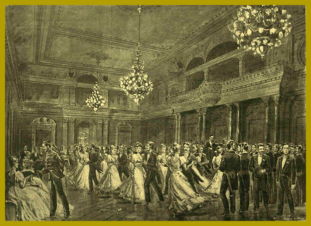 műegyetemisták bálja a Royal Szállóban 1897.