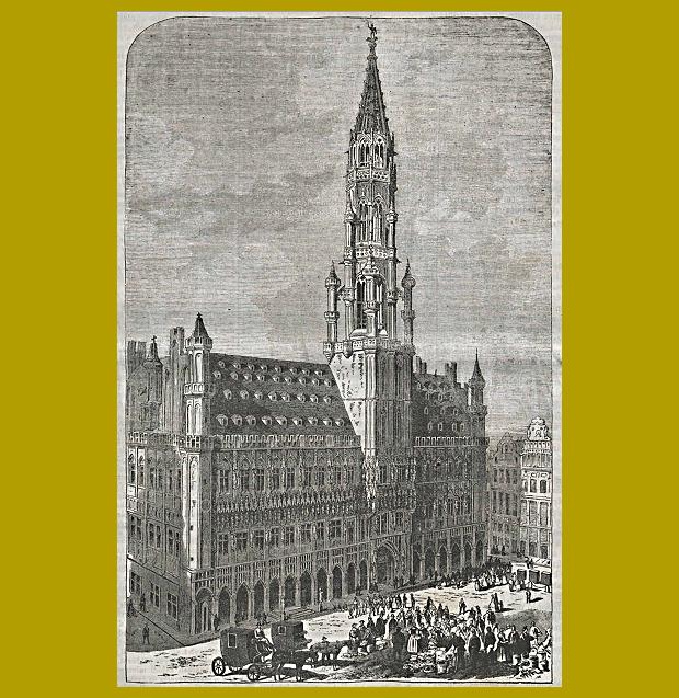 1866. február 11. Brüsszel, városháza - időutazás