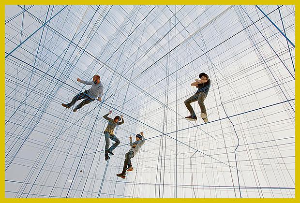 kötélmászóka 3D kötélhálóból - Numen/For
