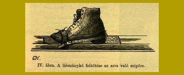 a síelés kezdetei Magyarországon 1893.