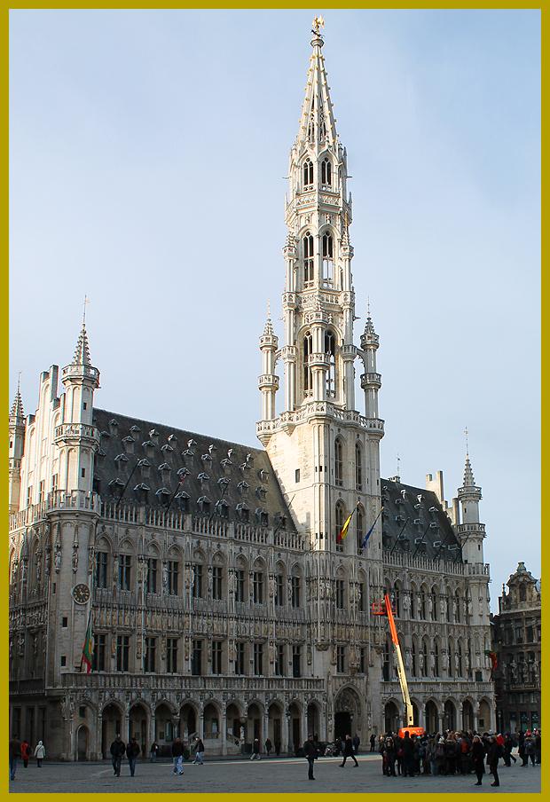 2014. február 11. Brüsszel, városháza - időutazás