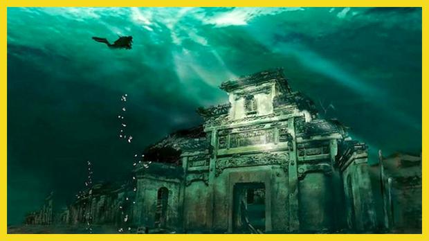 Kína víz alatti városa