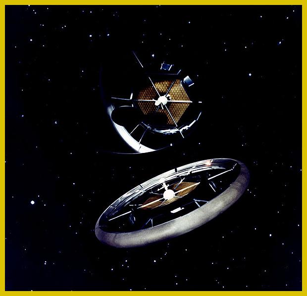 a Körgyűrű Kolónia - modell