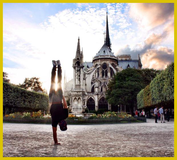 Notre-Dame székesegyház, Párizs, Franciaország - sajátos városképsorozat