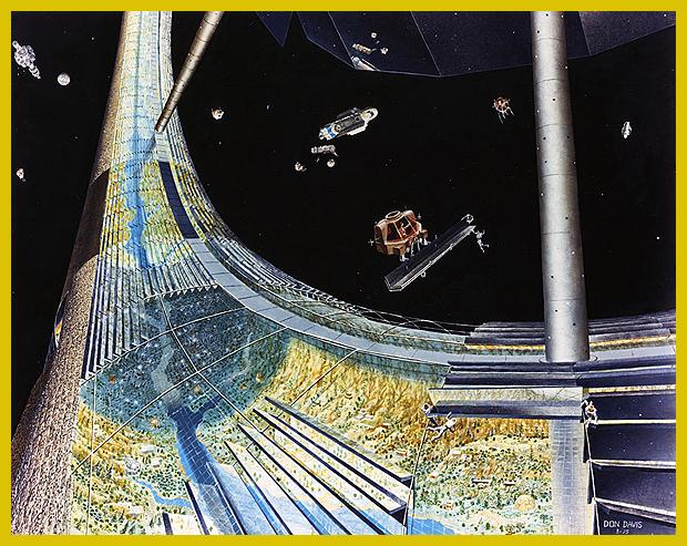 űrváros űrkombájnnal