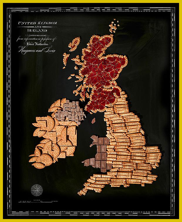 Anglia édesszájúaknak csupa finom kekszből és csokiból