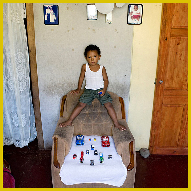 autó gyűjteményem - Cahuita, Costa Rica