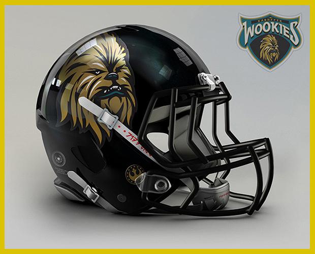 tervek a Star Wars Amerikai Futball Liga csapatai számára