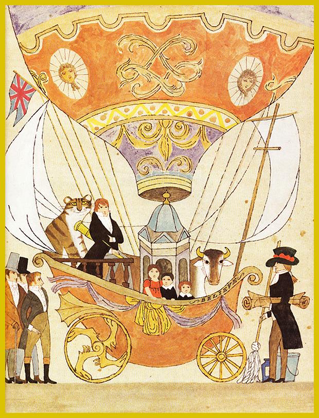 utazás William Blake-el - gyermekkönyv