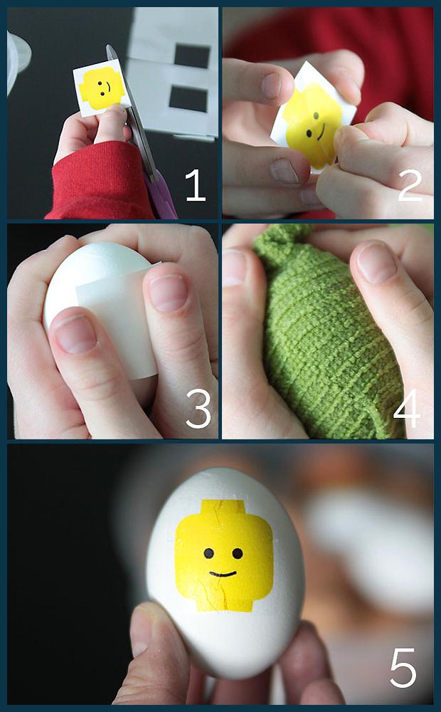letölthető minta a Lego húsvéti tojásokhoz