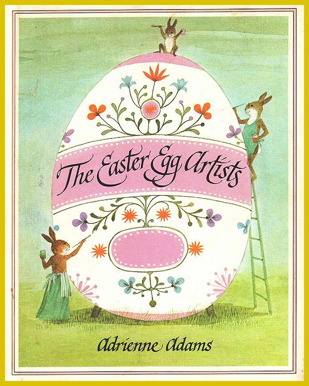húsvéti gyerekkönyv - Adrienne Adams illusztrációi 1976.