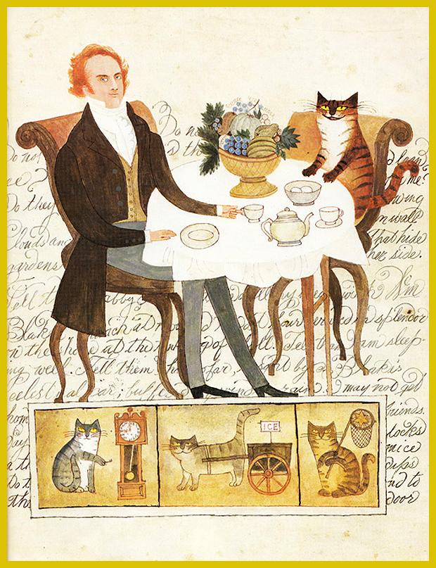 reggeli a Macskakirállyal - Nancy Willard gyerekkönyve William Blake életéről, költészetéről