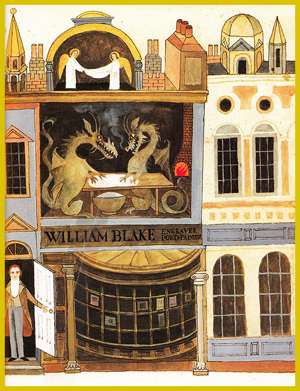 William Blake  fogadója - gyerekkönyv - 1981.