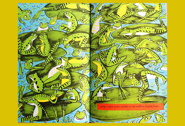több száz éneklő béka közt - gyermekkönyv