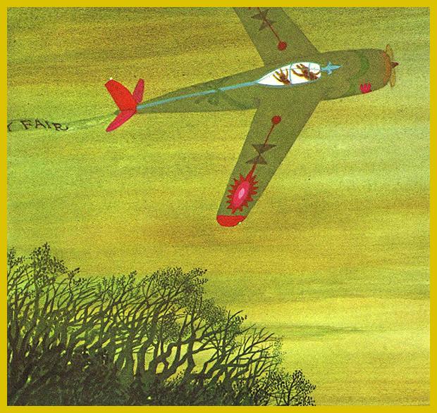 díszítőfestés a repülőgépen - nemzetközi gyermekkönyvnap