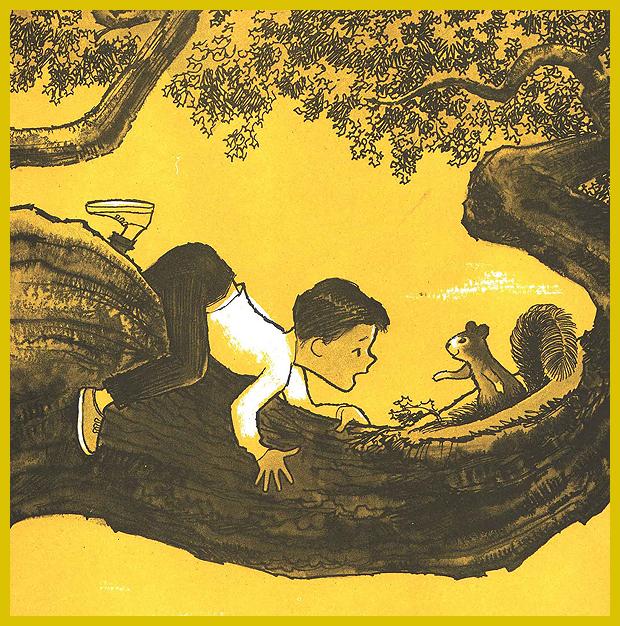bárcsak lenne egy kuckóm a fa tetején! - képek egy 1962-ben megjelent gyerekkönyvből