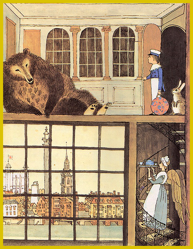 egy különös fogadó Londonban - Alice és Martin Provensen illusztrációi - 1981.