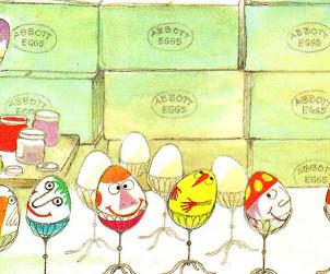 A húsvéti tojás művészei