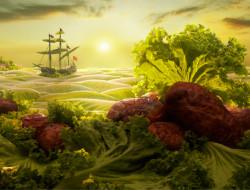 A saláta tengeren innen, a kenyér hegyen túl