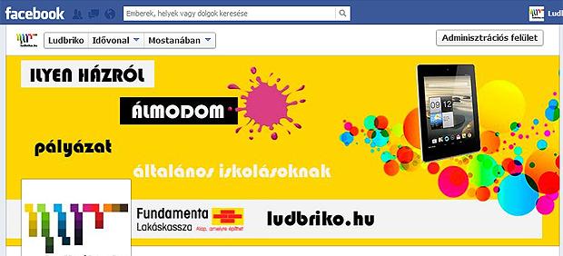 együttműködés - megjelenés a facebookon - Fundamenta Lakáskassza és ludbriko.hu
