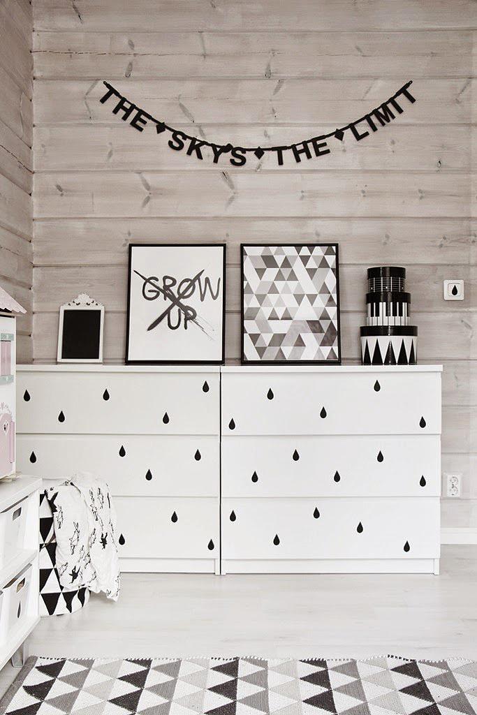 fekete fehér álomszobák