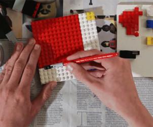 a lego festő