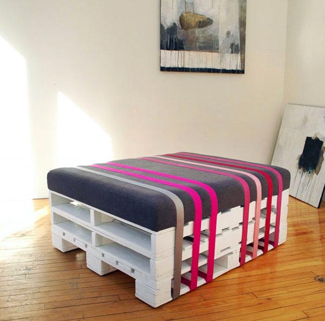 bútor raklapokból - redesign