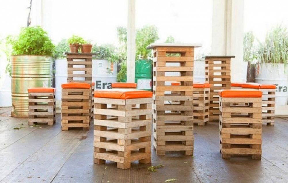re-bútorok újrahasznosított alapanyagokból