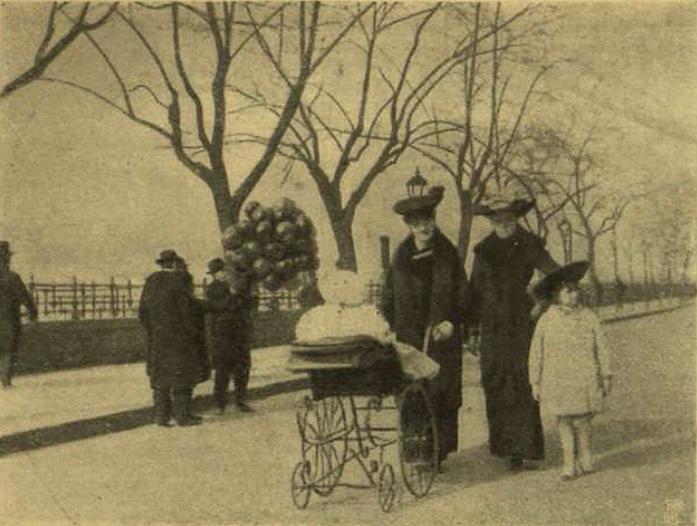 A Dunaparti korzón - 1905