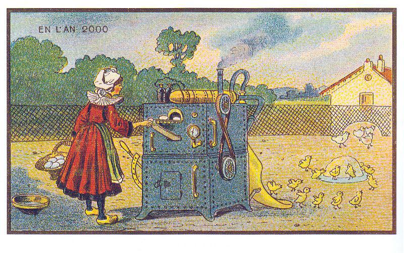 Franciaország 2000-ben - keltetőgép