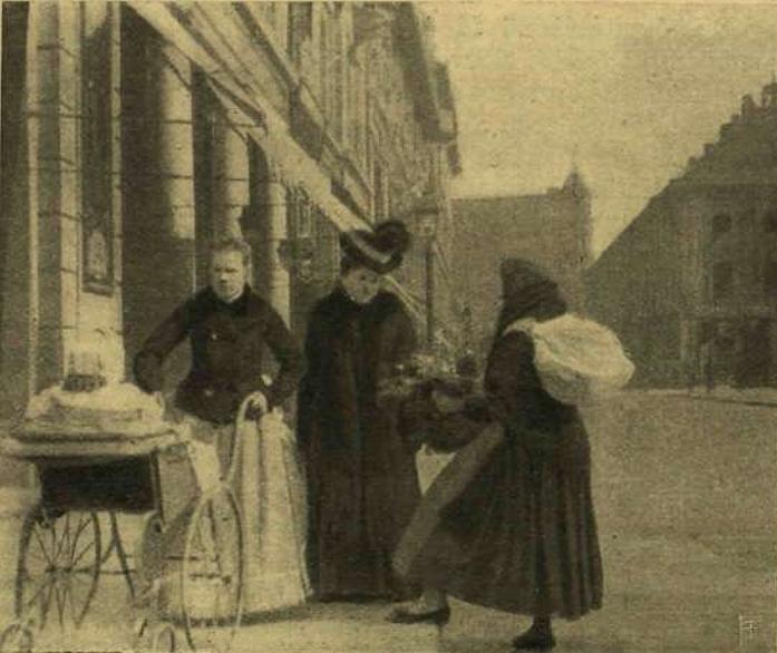 Virágárus asszony - 1905