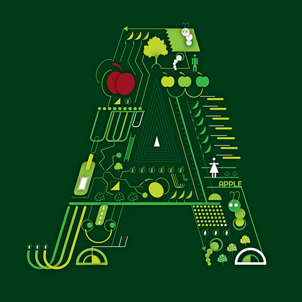 alma  - történetek a betűkben - különleges abc