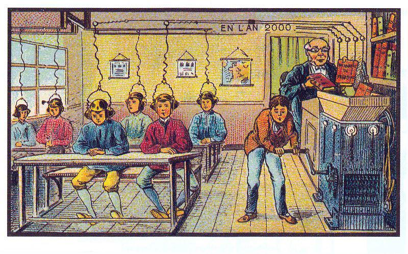 ilyennek álmodták a jövő iskoláit a XX század elején